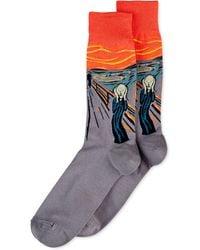 Hot Sox - Men's The Scream Socks - Lyst