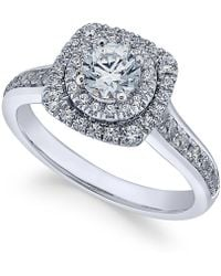 X3 - Certified Diamond Engagement Ring (1 Ct. T.w.) In 18k White Gold - Lyst
