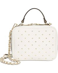 INC International Concepts - I.n.c. Quiin Quilt Top Handle Chain Crossbody, Created For Macy's - Lyst