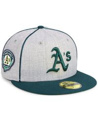 KTZ - Oakland Athletics Stache 59fifty Fitted Cap - Lyst
