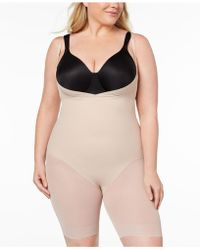 18abe252998 Miraclesuit - Extra Firm Open Bust Thigh Slimming Body Shaper 2781 - Lyst