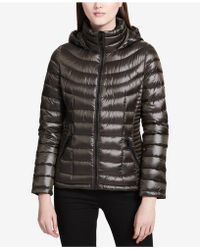 CALVIN KLEIN 205W39NYC - Packable Hooded Puffer Coat - Lyst