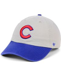 c3d88642992 Lyst - 47 Brand Chicago Cubs Clean Up Hat in Pink for Men
