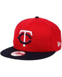 KTZ - Minnesota Twins 2 Tone Link 9fifty Snapback Cap - Lyst