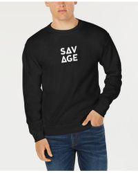 American Rag - Savage Graphic Sweatshirt, Created For Macy's - Lyst