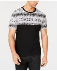INC International Concepts - Snakeskin-print T-shirt, Created For Macy's - Lyst