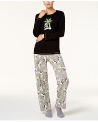 Hue - Printed Pyjama Set With Coordinating Socks - Lyst
