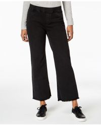 Eileen Fisher - Raw-edge Pull-on Jeans In Regular & Petite Sizes - Lyst