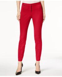 Alfani - Petite Seamed Skinny Pants - Lyst