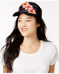 Hurley - Floral-print Snapback Hat - Lyst
