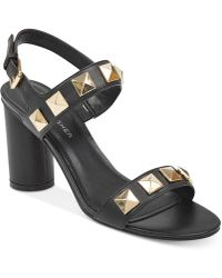 Marc Fisher - Panna Studded City Sandals - Lyst
