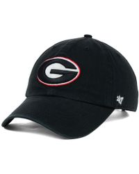 4aeff03a259 Lyst - 47 Brand Butler Bulldogs Clean Up Cap in Black for Men