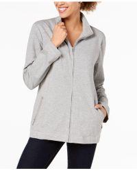 Karen Scott - Mock-neck Jacket, Created For Macy's - Lyst
