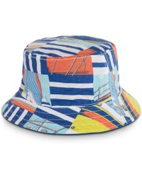 bf086dbb64158a Levi's Men's Rock N Roll Colorblocked Graphic-print Trucker Cap in ...