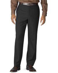Lauren by Ralph Lauren - 100% Wool Flat-front Dress Pants - Lyst