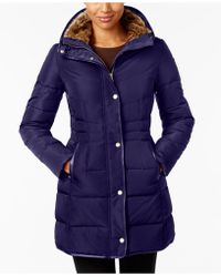 Cole Haan - Signature Faux-fur-lined Puffer Coat - Lyst