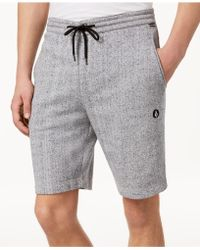 "Volcom - Chiller 20"" Heathered Shorts - Lyst"