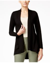 Vince Camuto - Open-front Hi-low Cardigan - Lyst