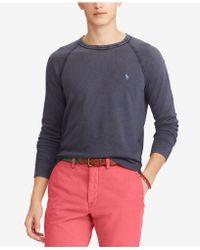 Polo Ralph Lauren - Spa Terry Sweatshirt - Lyst