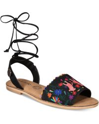 Loly In The Sky - Pom Pom Sandals From The Workshop At Macy's - Lyst