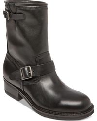 Steve Madden - Madman Leather Boots - Lyst