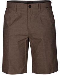 "Hurley - Breathe Heathered Dri-fit 9.5"" Shorts - Lyst"