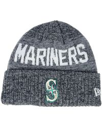reputable site 258a6 07e3d KTZ Seattle Mariners Coop 39thirty Cap in Blue for Men - Lyst