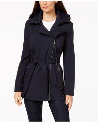 BCBGeneration - Asymmetrical Raincoat - Lyst