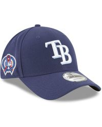 the latest faad5 1e94d KTZ - Tampa Bay Rays 9-11 Memorial 9forty Cap - Lyst