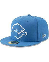 Penn State Nittany Lions Logo Scatter Cap.  25. Macy s · KTZ - Detroit Lions  Logo Elements Collection 59fifty Fitted Cap - Lyst 368e2e37fc6c