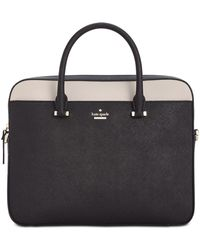 Kate Spade - 13-inch Saffiano Leather Laptop Bag - Lyst