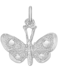 Rembrandt Charms - Sterling Silver Butterfly Charm - Lyst