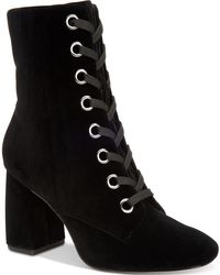 BCBGeneration - Alexa Block-heel Booties - Lyst