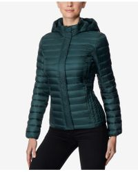 32 Degrees - Packable Hooded Puffer Coat - Lyst