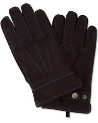 Original Penguin - Leather Dart Gloves - Lyst