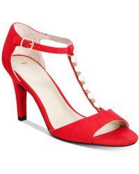 Rialto | Rida Embellished Dress Sandals | Lyst