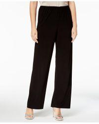 Alex Evenings - Wide-leg Trousers, Regular & Petite - Lyst