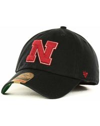official photos 100d1 85c0f adidas Nebraska Cornhuskers Ncaa On-Field Baseball Cap in Red for Men - Lyst