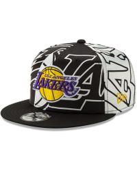 san francisco 78dd4 01084 KTZ - Los Angeles Lakers Over Satin 9fifty Snapback Cap - Lyst