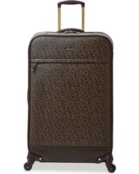 "Calvin Klein - Mulberry 29"" Softside Spinner Suitcase - Lyst"