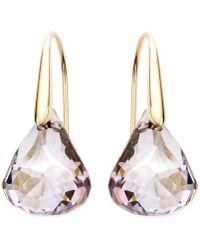 Swarovski - Earrings, Lunar Blush Crystal Drop Earrings - Lyst
