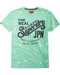 Superdry - Graphic-print T-shirt - Lyst