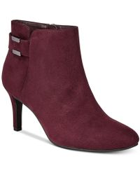 Alfani - Step 'n Flex Faust Booties, Created For Macy's - Lyst