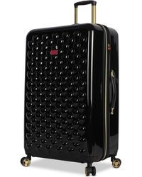 """Betsey Johnson - Heart To Heart 30"""" Hardside Expandable Spinner Suitcase - Lyst"""