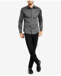 Guess - Geometric-print Shirt - Lyst