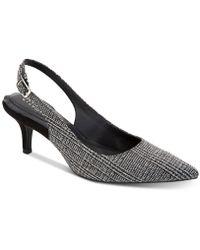 Alfani - Step 'n Flex Babbsy Pointed-toe Slingback Pumps, Created For Macy's - Lyst