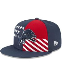 on sale 72d1e 9f3e1 KTZ - Detroit Lions Draft Spotlight 9fifty Snapback Cap - Lyst