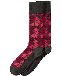 Alfani - Printed Socks, Created For Macy's - Lyst
