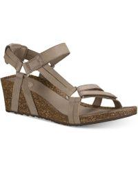 Teva - Ysidro Universal Wedge Sandals - Lyst