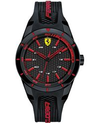 Ferrari - Men's Red Rev Black Silicone Watches 38mm & 44mm - Lyst